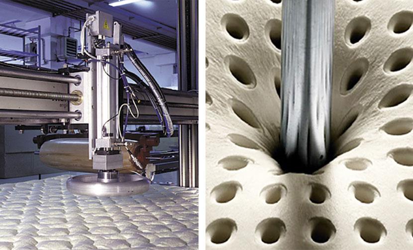 Test Materassi.Laboratory Tests Consorzio Materassi